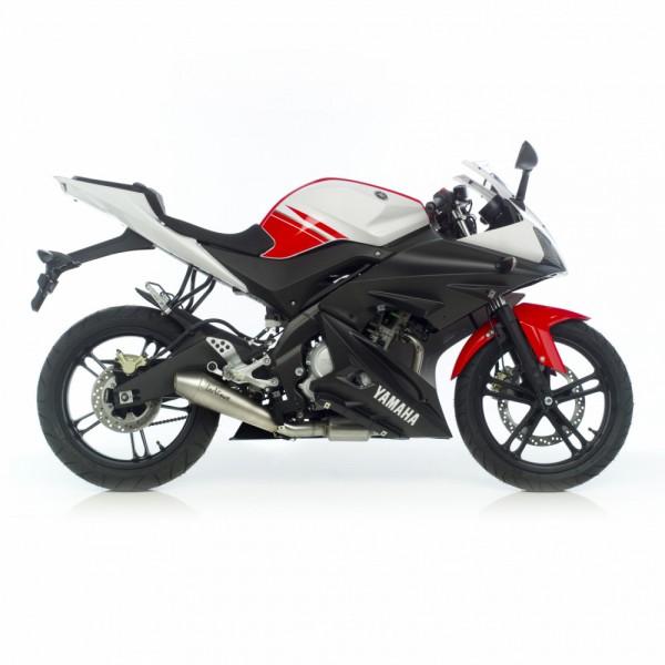 Sport Auspuff LeoVince GP Style Komplettanlage Yamaha YZF-R 125 Bj 2008-2013 Typ: RE06 +ABE