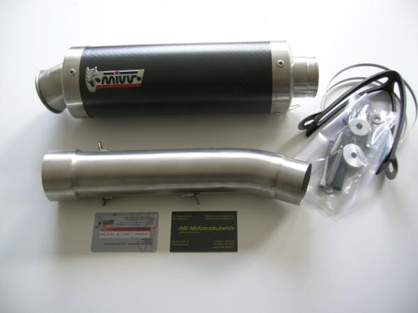 Sport Auspuff MIVV GP Carbon für Aprilia RSV 1000 Bj. 1998-2003 Typ: ME / RP mit ABE