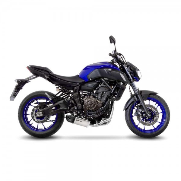Sportauspuff LeoVince Underbody Komplettanlage Yamaha MT-07 / FZ-07 Bj. 2017-2020 EURO-4 +Kat/ABE